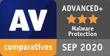 アバストのMalware Protection Test 202009